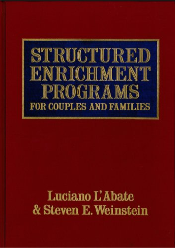 9780876304075: Structured Enrichment Programs for Couples and Families