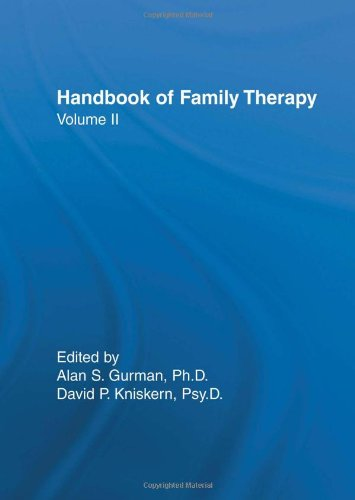 9780876306420: Handbook of Family Therapy, Volume 2