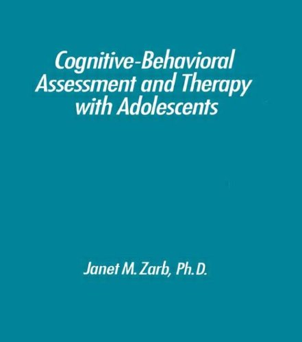 9780876306857: Cognitive-Behavioural Assessment And Therapy With Adolescents