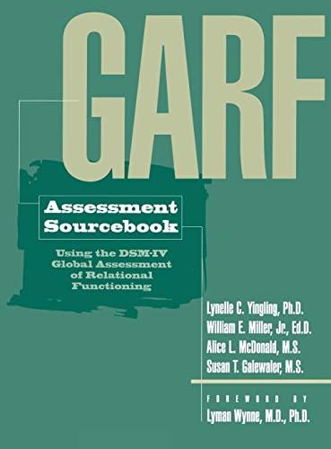 9780876308646: GARF Assessment Sourcebook