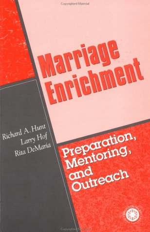9780876309131: Marriage Enrichment-Preparation, Mentoring, And Outreach