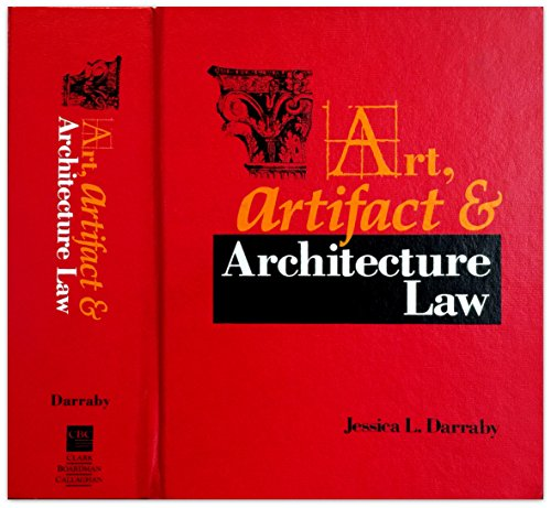 9780876322215: Art, Artifact, and Architecture Law