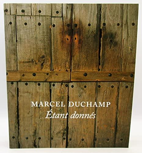 9780876332115: Marcel Duchamp : Étant Donnés