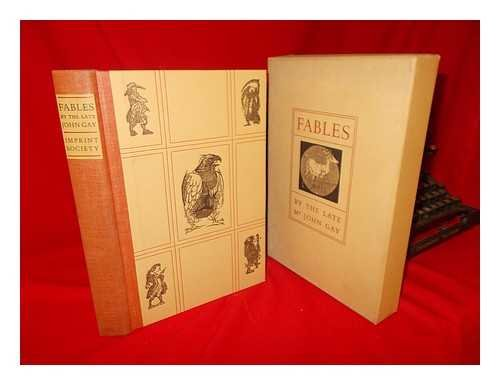FABLES BY THE LATE Mr JOHN GAY : In One Volume: GAY, John