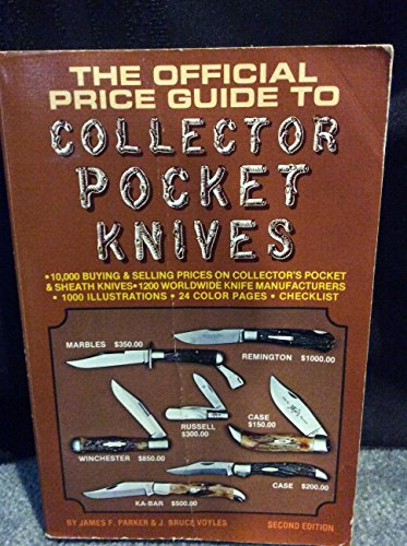 The Official Price Guide to Collector Pocket: Parker, James F.;