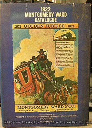 1922 Montgomery Ward Catalogue: Cohen, Hal L.
