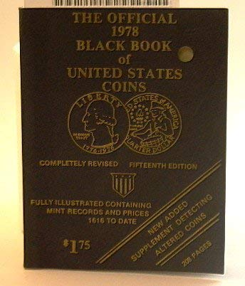 9780876372203: The Official 1976 Black Book of United States Coins (Special Bi-Centennial Edition)
