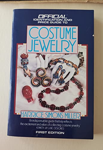 9780876377871: The Official Identification and Price Guide to Costume Jewelry, 1st Edition
