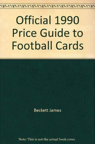 Footbl Cards'90-9ed (9780876378007) by House Of Collectibles