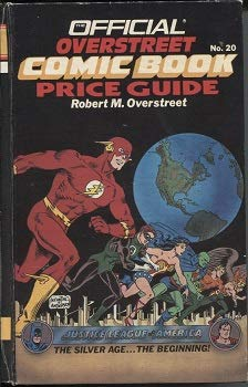 Official Overstreet Comic Book Price Guide No. 20