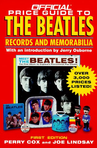 9780876379400: Official Price Guide to the Beatles (Serial)