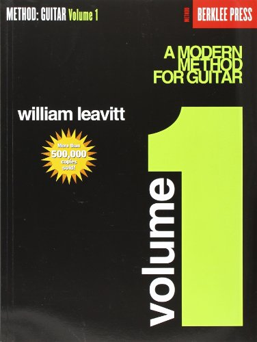 9780876390139: A Modern Method for Guitar - Volume 1: Guitar Technique