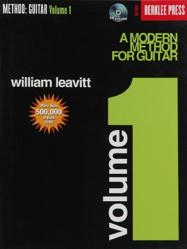 9780876390146: A Modern Method for Guitar: v. 1: (Book/cd)