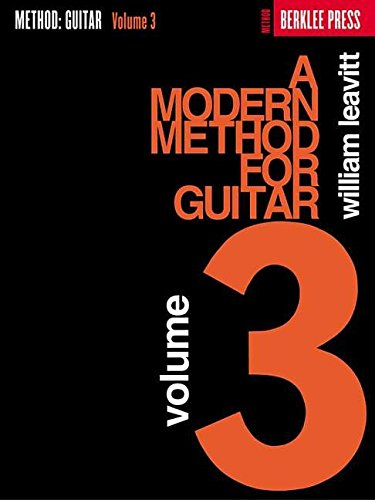 9780876390177: A Modern Method for Guitar - Volume 3 (Guitar Method)