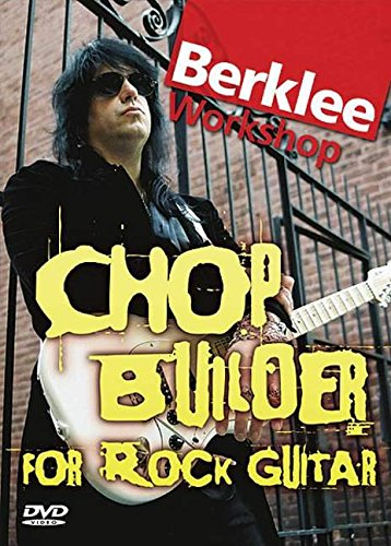 9780876390337: Chop Builder for Rock Guitar: Berklee Workshop Series