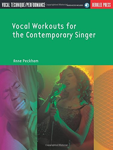 9780876390474: Vocal workouts for the contemporary singer +CD