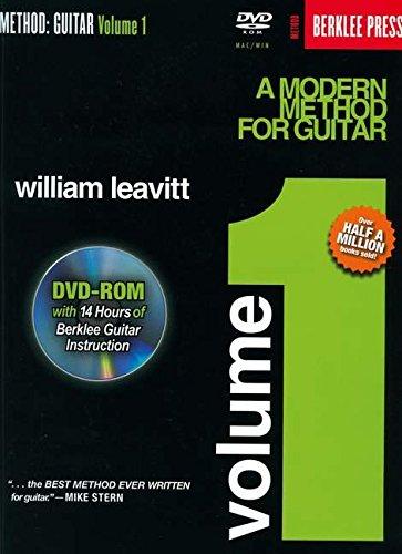 9780876390696: A Modern Method For Guitar Volume 1 [With Dvd] (Method (Berklee Press))