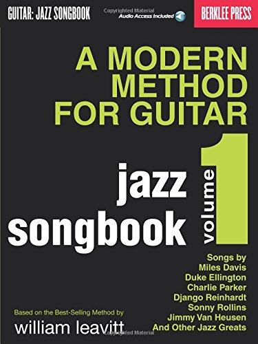 9780876390733: A Modern Method for Guitar - Jazz Songbook, Vol. 1 Bk/online audio