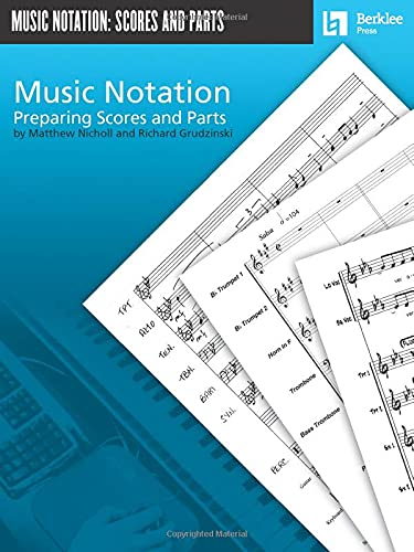 9780876390740: Music Notation - Preparing Scores and Parts
