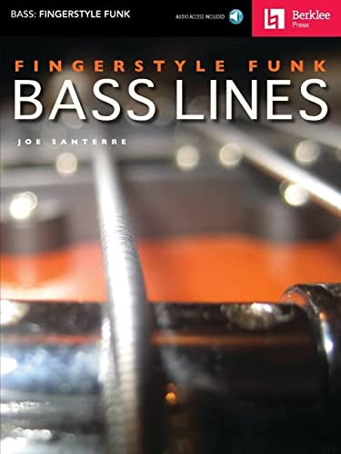 9780876390764: Fingerstyle Funk Bass Lines
