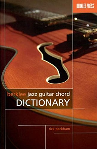 9780876390795: BERKLEE JAZZ GUITAR CHORD DICTIONARY