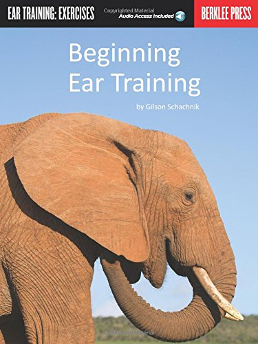 9780876390818: Beginning Ear Training (Ear Training: Exercises) Bk/Online Audio