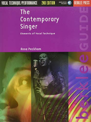 9780876391075: The Contemporary Singer: Elements of Vocal Technique Book & Online Audio (Berklee Guide)