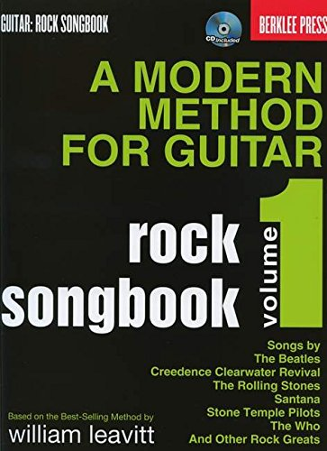 9780876391198: Modern Method For Guitar Rock Songbook: (Book/CD)