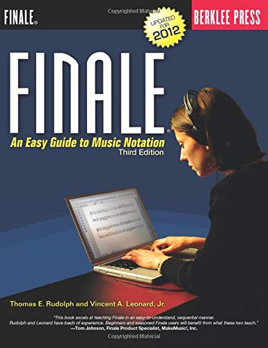 9780876391235: Finale: An Easy Guide to Music Notation - Third Edition