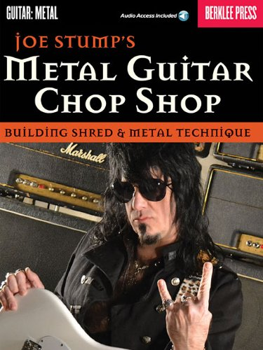 9780876391464: Metal Guitar Chop Shop: Building Shred & Metal Technique (Guitar: Metal)