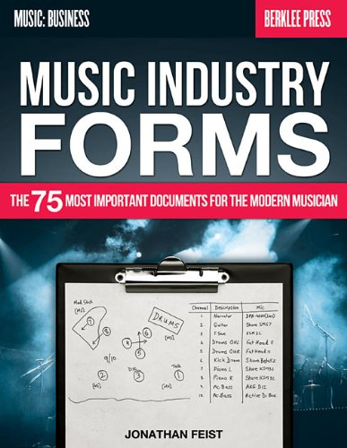 9780876391471: Music Industry Forms: The 75 Most Important Documents for the Modern Musician (Music: Business)