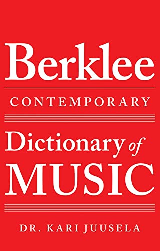 9780876391617: The Berklee Dictionary of Contemporary Music