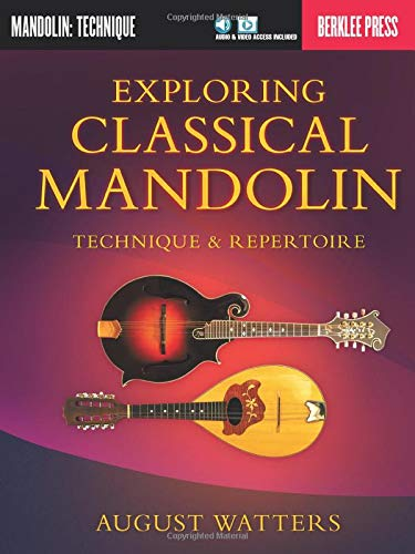 9780876391624: Exploring Classical Mandolin: Technique & Repertoire