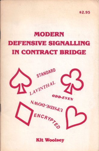9780876430323: Modern Defensive Signalling in Contract Bridge