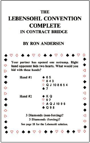 9780876430484: The Lebensohl Convention Complete in Contract Bridge