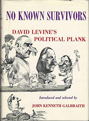 9780876450307: NO KNOWN SURVIVORS