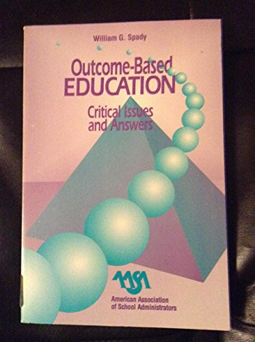 9780876521830: Outcome Based Education: Critical Issues