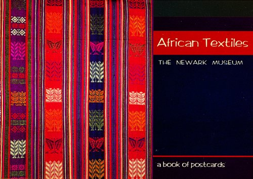 9780876540930: African Textiles: The Newark Museum: A Book of Postcards