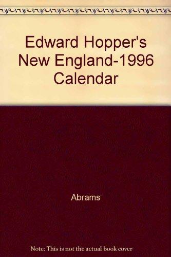 9780876541678 Edward Hopper S New England 1996 Calendar Abebooks