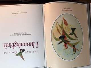 Hummingbirds Book of Days: Gould, John