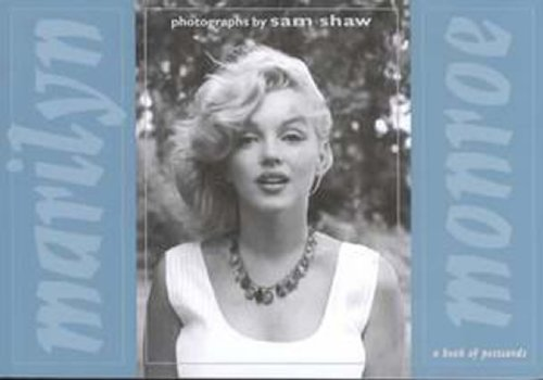 9780876543641: Marilyn Monroe: Photographs by Sam Shaw: A Book of Postcards
