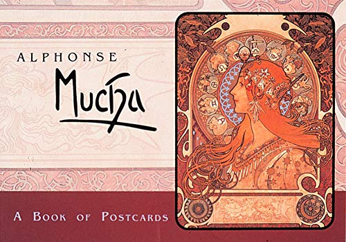 9780876543672: Alphonse Mucha: A Book of Postcards