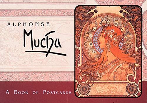 9780876543672: Alphonse Mucha: A Book of Postcards