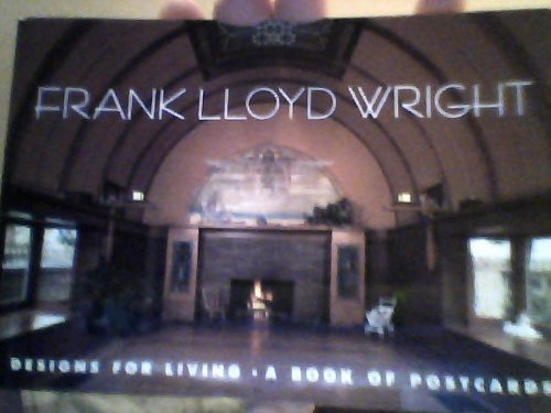 9780876544914: Frank Lloyd Wright: Designs for Living: Postcard Book