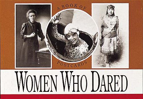 9780876548073: Women Who Dared, Vol. I: A Book of Postcards