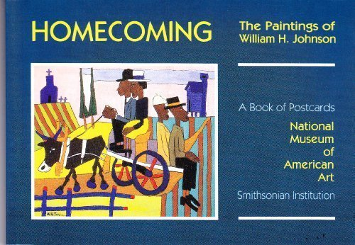 9780876548097: Homecoming: The Paintings of William H. Johnson : A Book of Postcards