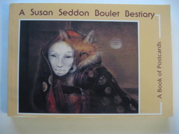 9780876548127: Susan Boulet Bestiary: Postcard Book