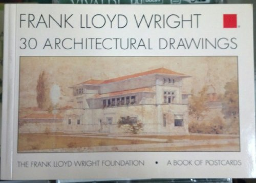 Wright, Frank Lloyd, Architectural Drawings, A Book of Postcards: Wright, Frank Lloyd; Frank Lloyd ...