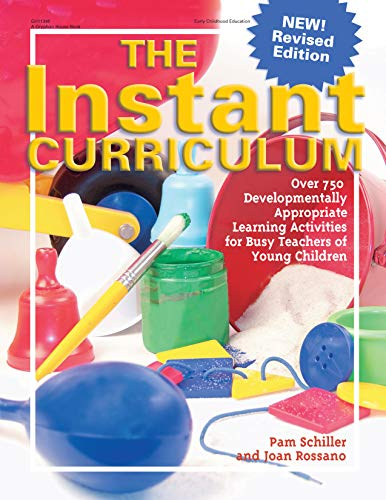 9780876590027: The Instant Curriculum: Over 750 Developmentally Appropriate Learning Activities for Busy Teachers of Young Children