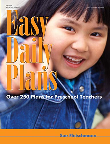 9780876590058: Easy Daily Plans: Over 250 Plans for Preschool Teachers (Early Childhood Education)
